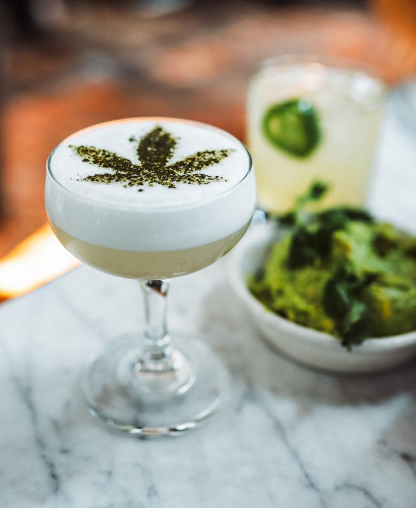 marijuana cocktail drink