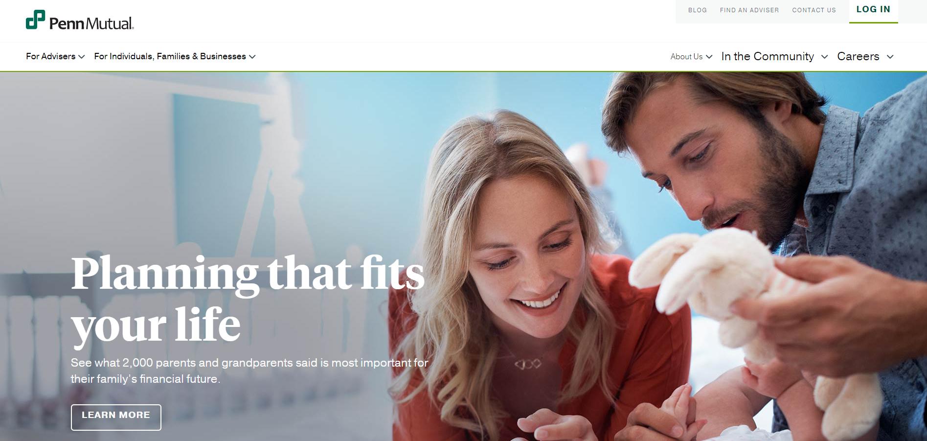 Penn Mutual Homepage